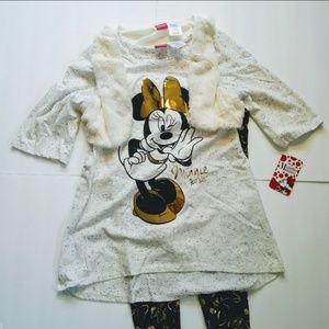 Minnie Mouse Outfit NWT